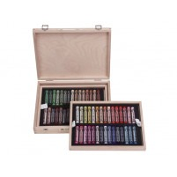 Rembrandt Soft pastelS DE LUXE WOODEN BOX OF 60 PORTRAIT