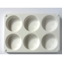 Stackable 6 Deep Well Plastic Painting Tray Palette