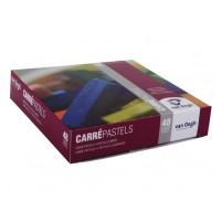 DRY CARRE PASTELS DE LUXE SET OF 48 GENERAL COLOURS