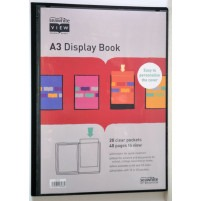 A3 Display Flip File Folder