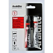 Araldite Rapid Setting Resign Glue (2x15ml)