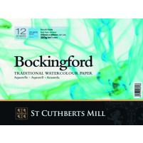 Bockingford Watercolour Spiral Pad 26x18cm ~ 300gsm CP(Not)