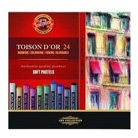 Set of 24 Chalk Pastels