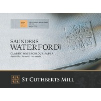 Saunders Waterford 56x76cm - 425gsm - Rough Watercolour Paper