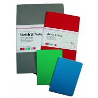 Pack of 2 Sketch & Note Booklets