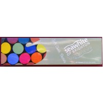 Unbranded Set of 24 Soft Chalk Pastels