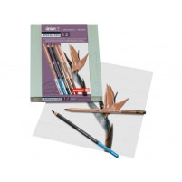 BOX SET OF 12 SPECIALITY SKETCHING PENCILS