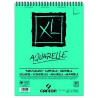 Canson - XL Watercolour Spiral Pad - A4 300gsm - 30 sheets