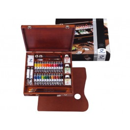 VAN GOGH OIL COLOUR ARTISTS' WOODEN EXPERT BOX