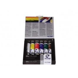 VAN GOGH OIL COLOUR STARTER SET 6X20ML