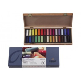 Rembrandt Soft Pastels - BASIC BOX OF 30 1/2 LENGTH