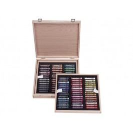 Rembrandt Soft Pastels - DE LUXE WOODEN BOX OF 90 PORTRAIT