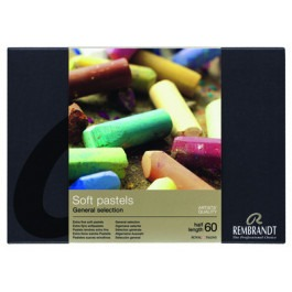 Rembrandt Soft Pastels - BASIC SET OF 60 1/2 LENGTH