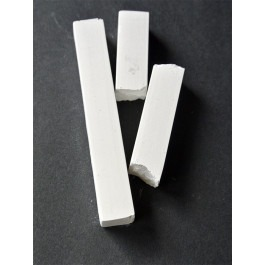 White Compressed Charcoal, (single stick)
