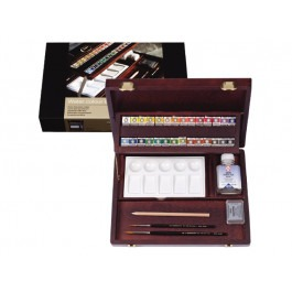 ARTISTS' PROFESSIONAL BOX WATERCOLOUR SET