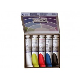 GOUACHE CARDBOARD MIXING SET 5X20ML