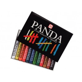 PANDA OIL PASTELS - SET OF 12