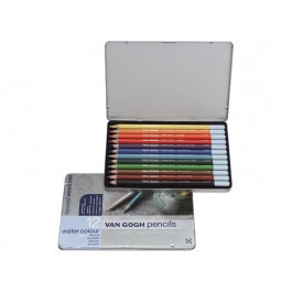 VAN GOGH SET OF 12 WATERCOLOUR PENCILS