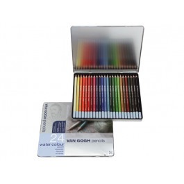 VAN GOGH SET OF 24 WATERCOLOUR PENCILS