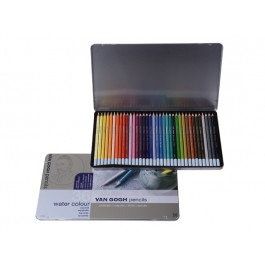 VAN GOGH SET 0F 36 WATERCOLOUR PENCILS