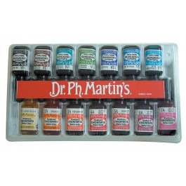 Radiant 15ml (1/2oz) Set of 14 'A' colours