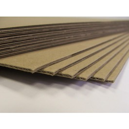 1 x A1 Corrugated Kraft Board - 300gsm