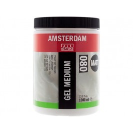 ACRYLIC GEL MEDIUM MATT - 1 LITRE