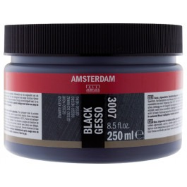 BLACK GESSO PRIMER - 250ml