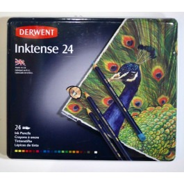 Inktense Pencil  Metal Set of 24