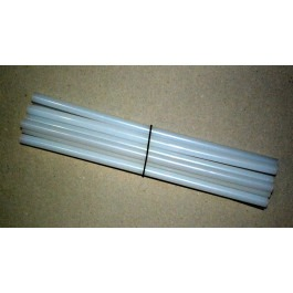 CLEAR GLUE GUN STICKS 10x12MM X 300MM