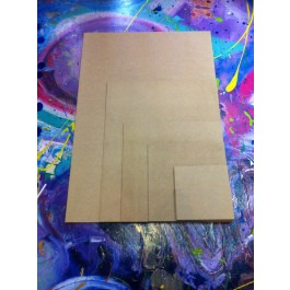 MDF Painting Board - offcut