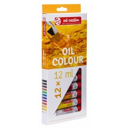 Budget oil colour set 12 x 12ml