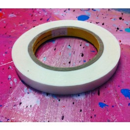 Double Sided Artists Tape (Flush) - 12mm x 33m