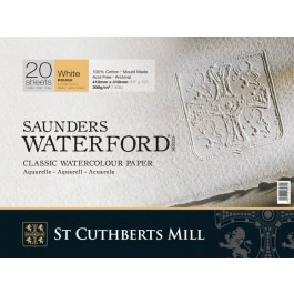 "Saunders Watercolour Block 16""x12"" ~ 300gsm Rough"