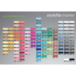 Dual Ended Stylefile Markerpens