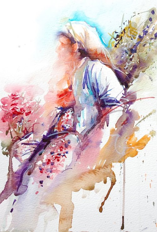 How To Use Aquarelle Paints