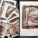 Printmaking With Salt and The Sun